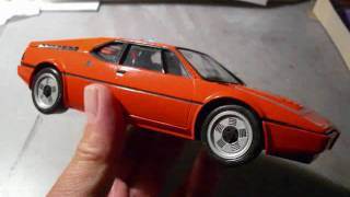 Revell-ESCI BMW M1 1:24th model kit build