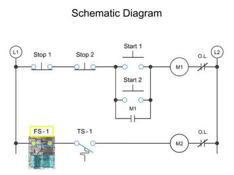 visual walkthrough of schematic diagram and control logic ... 4001e control panel wiring diagram control circuit wiring diagram #9