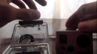 GoPro Hero 2  Anti-Fog using Silica Gel Pack