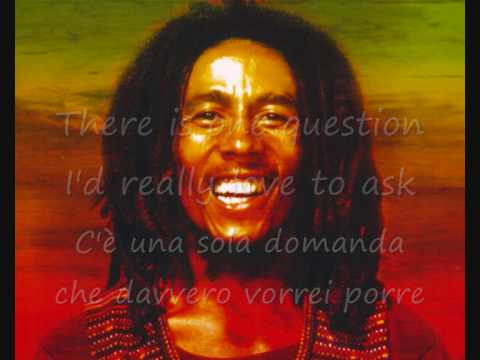 Bob marley - One Love . Traduzione in Italiano.wmv