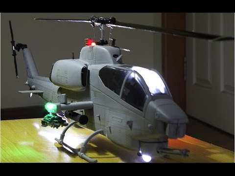 Roban Model Ah 1w Supercobra Rc Helicopter Overview Youtube