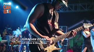 Download lagu ARIF CITENX feat NISA FARISA JURAGAN EDAN BEN EDAN live Bangorejo MP3