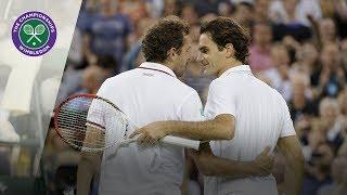 Roger Federer vs Julien Benneteau: Wimbledon third round 2012 (Extended Highlights)
