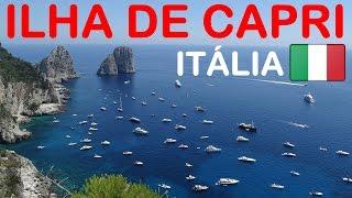 TURISMO - Viagem para Itália - Ilha de Capri