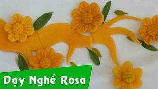 Tỉa rau củ: mẫu hoa Mai
