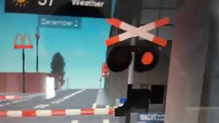 1st railroad crossing in bovenkarspel in ROBLOX