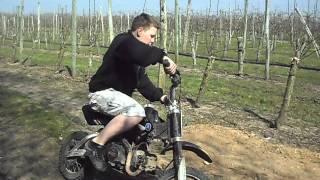moto cross chute