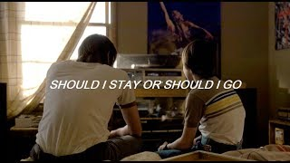 The Clash - Should I stay or should i go? (sub español) || STRANGER THINGS