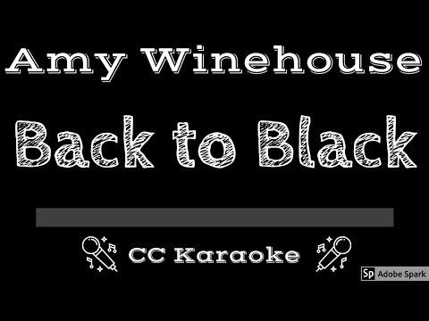 Amy Winehouse • Back To Black (CC) [Karaoke Instrumental Lyrics]