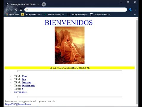 Tutorial Diseño de Pagina Web HTML- PRIMEROS PASOS thumbnail