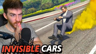 Can you drive across GTA 5 without seeing the car?