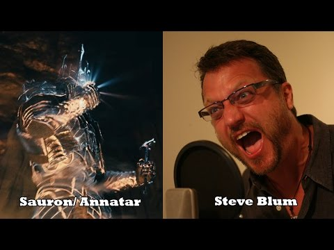Shadow of Mordor Characters and Voice Actors