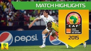 Algeria - South Africa | CAN Orange 2015 | 19.01.2015