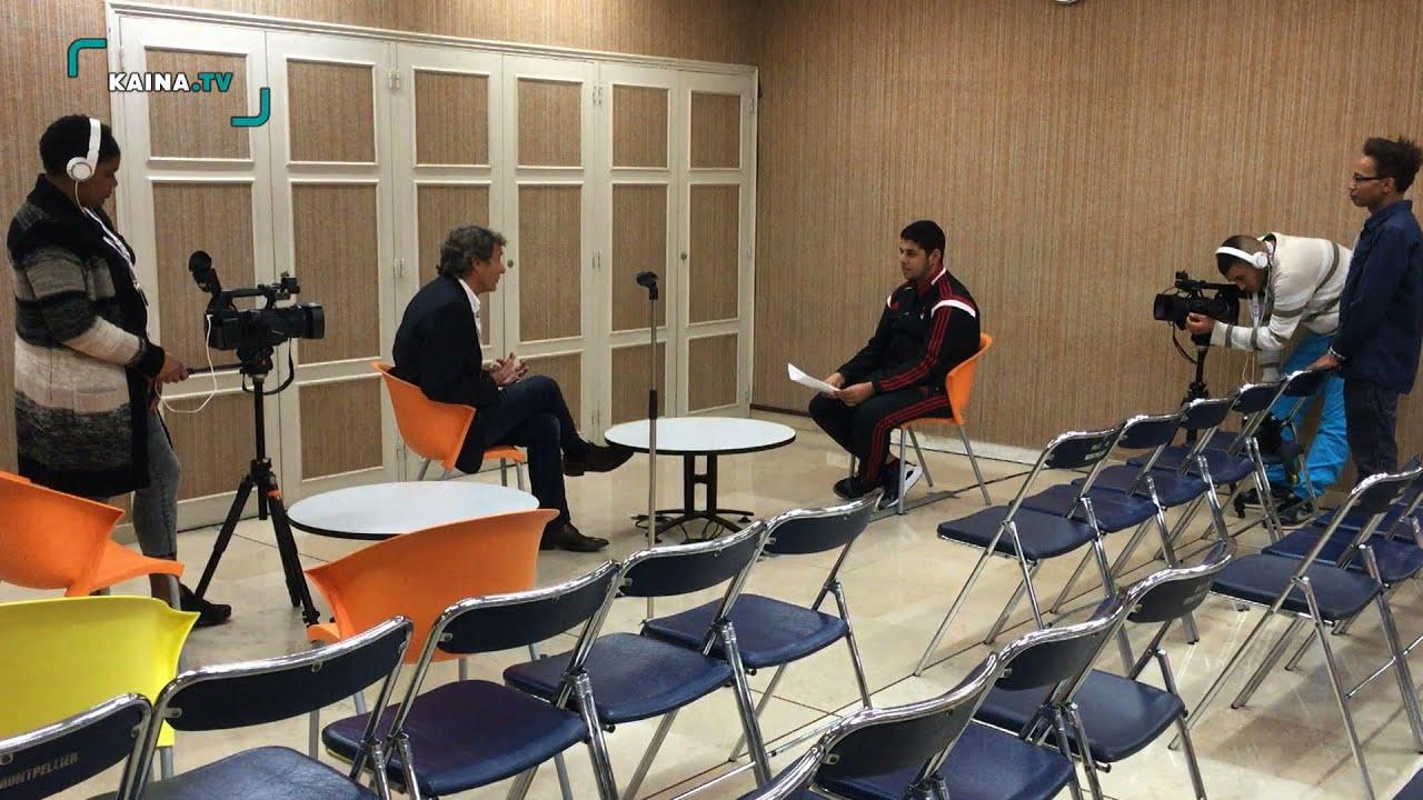 A la rencontre de Bertrand Schmit,Réalisateur au Cinemed 2015