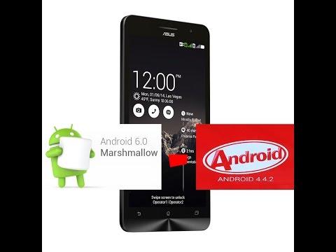 Откат с любой прошивки на сток 4.4.2 KitKat Asus ZenFone 5 (A500cg, A501cg)