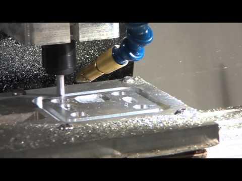 Mill-it-Mini CNC milling machine machining Aluminium