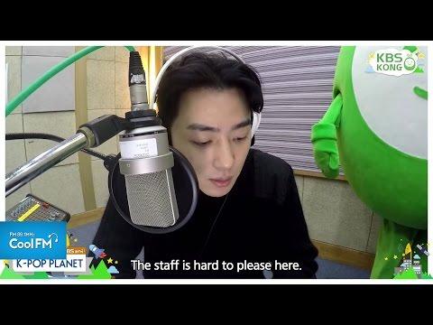 직캠 라디오 케이팝 플래닛 DJ되다 : 그레이 CAM / 160221[K-POP PLANET_ENG SUB]
