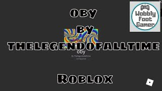 oby + thelegendofalltime + roblox