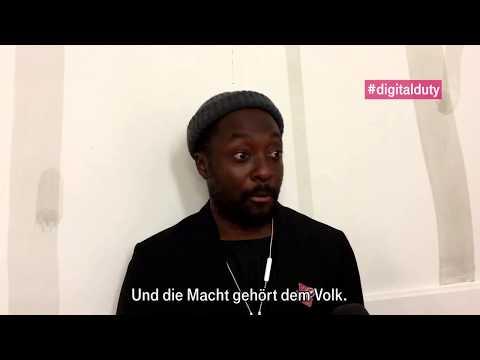 """Social Media Post: Interview mit will.i.am, Entrepreneur und Musiker: """"KI wird die..."""