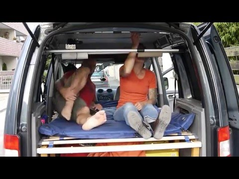 vw caddy camper youtube. Black Bedroom Furniture Sets. Home Design Ideas
