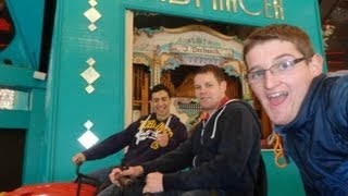 Blackpool Pleasure Beach Vlog March 2013