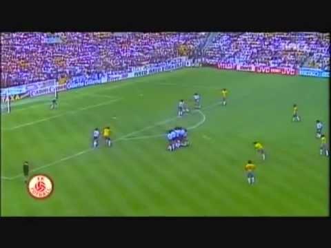 Eder's freekick vs Argentina WC 1982