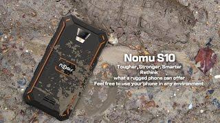 Распаковка и обзор Nomu S10. Отличный, но перехваленный 4G смартфон с защитой IP68