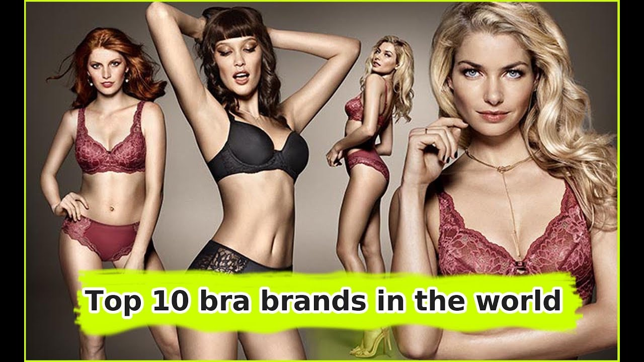 9a647ed895c27 Top 10 bra brands in the world - The best in YouTube - YouTube