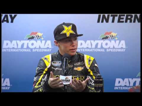 Dylan Kwasniewski NNS pole winner daytona Video