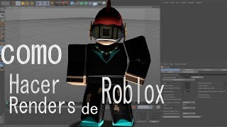 How to make Roblox Renders in Cinema 4D
