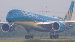 4K WOW! Amazing Traffic! Polderbaan Arrivals | Vietnam, Royal Jordanian, Aeroflot, Malaysia & More!