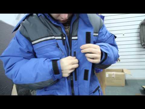 видео: [архив] Зимняя куртка для рыбалки и туризма nova tour «Буран» n. Обзор