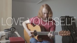 Justin Bieber - Love Yourself - Fingerstyle Guitar Cover - Free Tabs