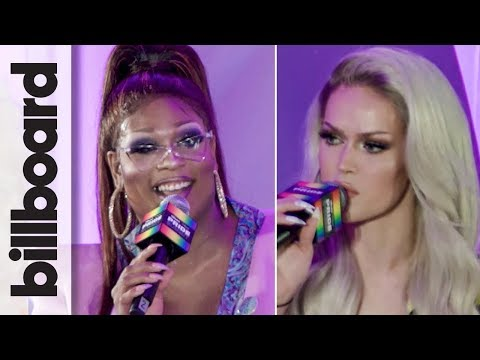 Blair St. Clair, Peppermint, Trixie Mattel & More | Drag & Music | Billboard & THR Pride Summit