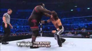 WWE  21.10.2011 Mark Henry vs John Morrison.русская версия от 545TV