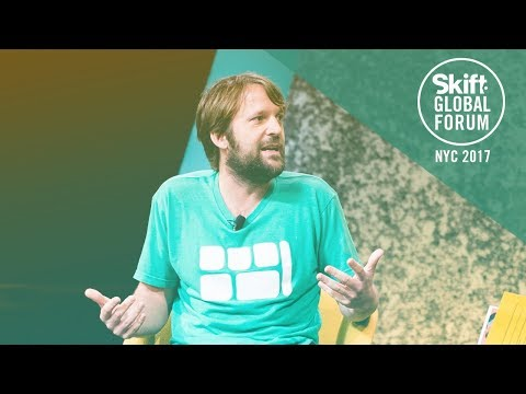 Noma Head Chef & Co-Owner René Redzepi at Skift Global Forum 2017