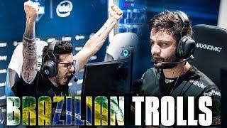 THE BRAZILIANS ARE TROLLS!! (Faceit)