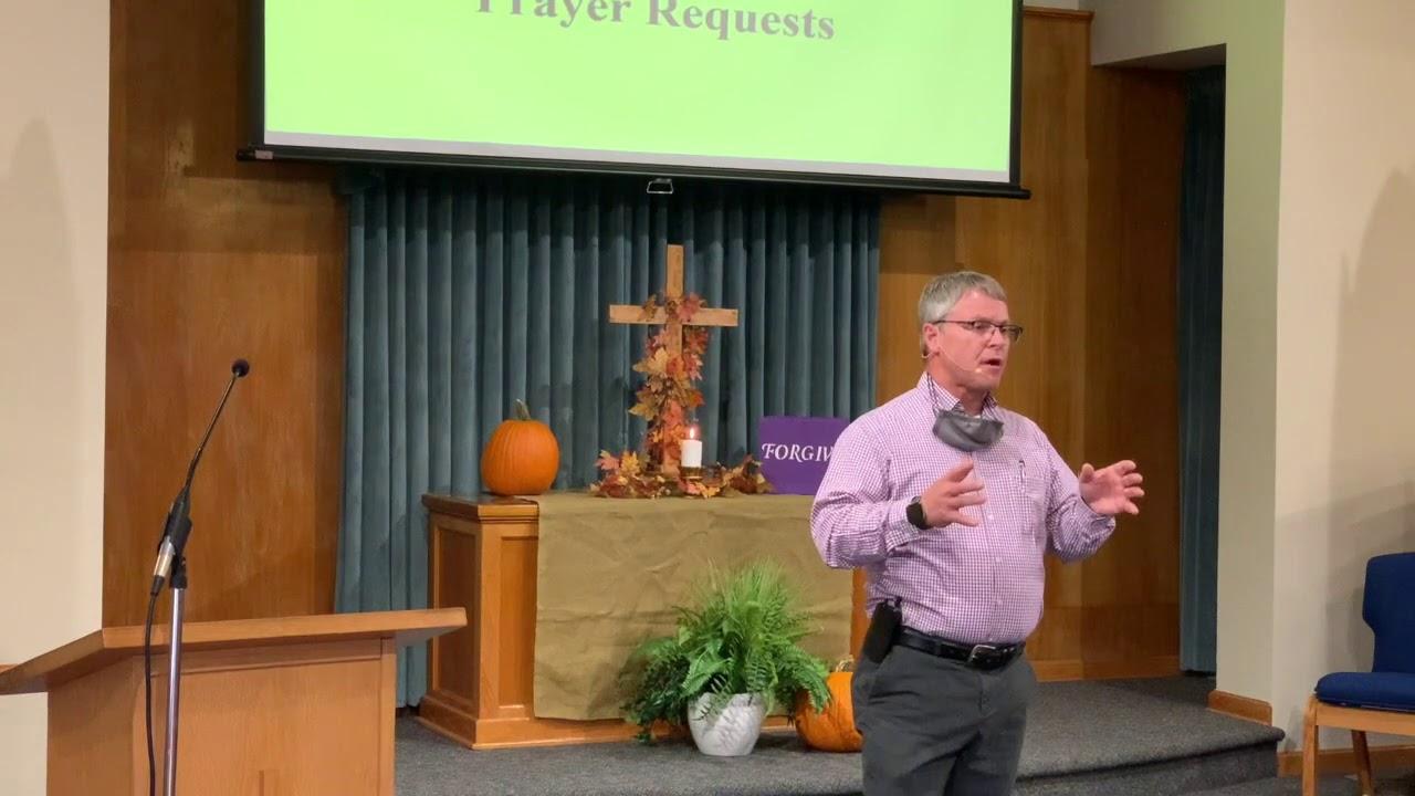 Sunday Message - September 20