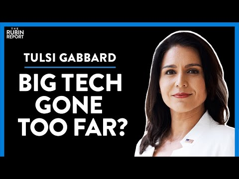 Social Media Purge, Big Tech & Special Announcement | Tulsi Gabbard | DIRECT MESSAGE | Rubin Rep