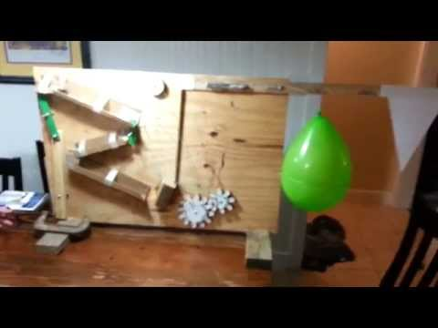 Rube Goldberg For Kent's 7th Grade Science Class All Six Simple Machines Plus Gears