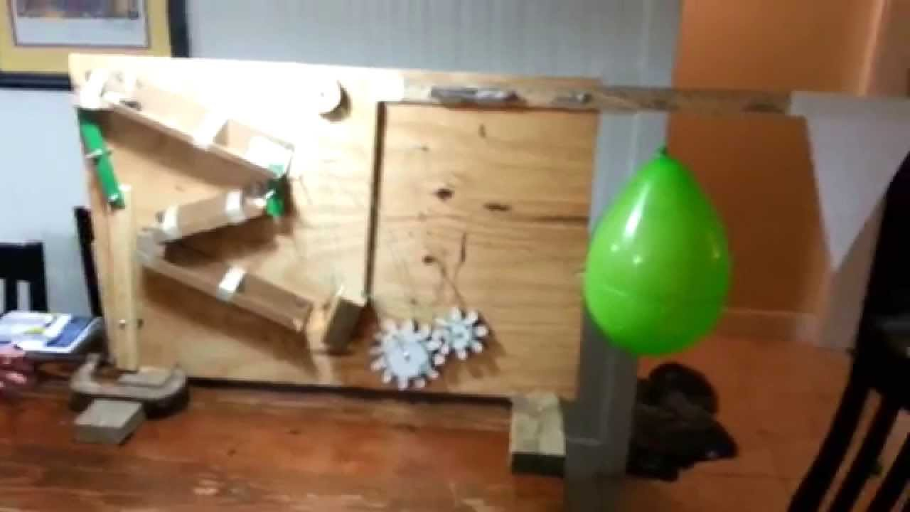 Screw simple machine rube goldberg