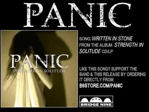 Written in Stone by Panic