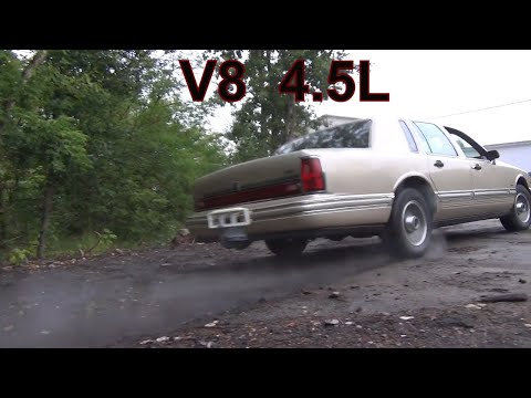 Lincoln Town Car, обзор.