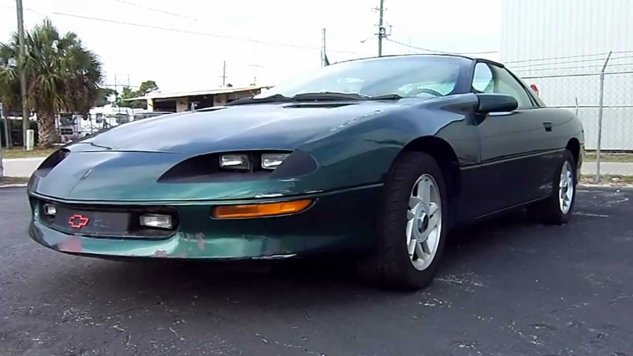 American Muscle Car >> 1996 Chevy Camaro Z28 - FOR SALE (Orlando) - YouTube