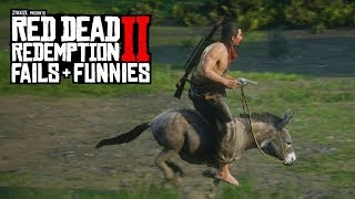 Red Dead Redemption 2 - Fails & Funnies #26