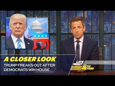 Trump Freaks Out After Democrats Win House: A Closer Look