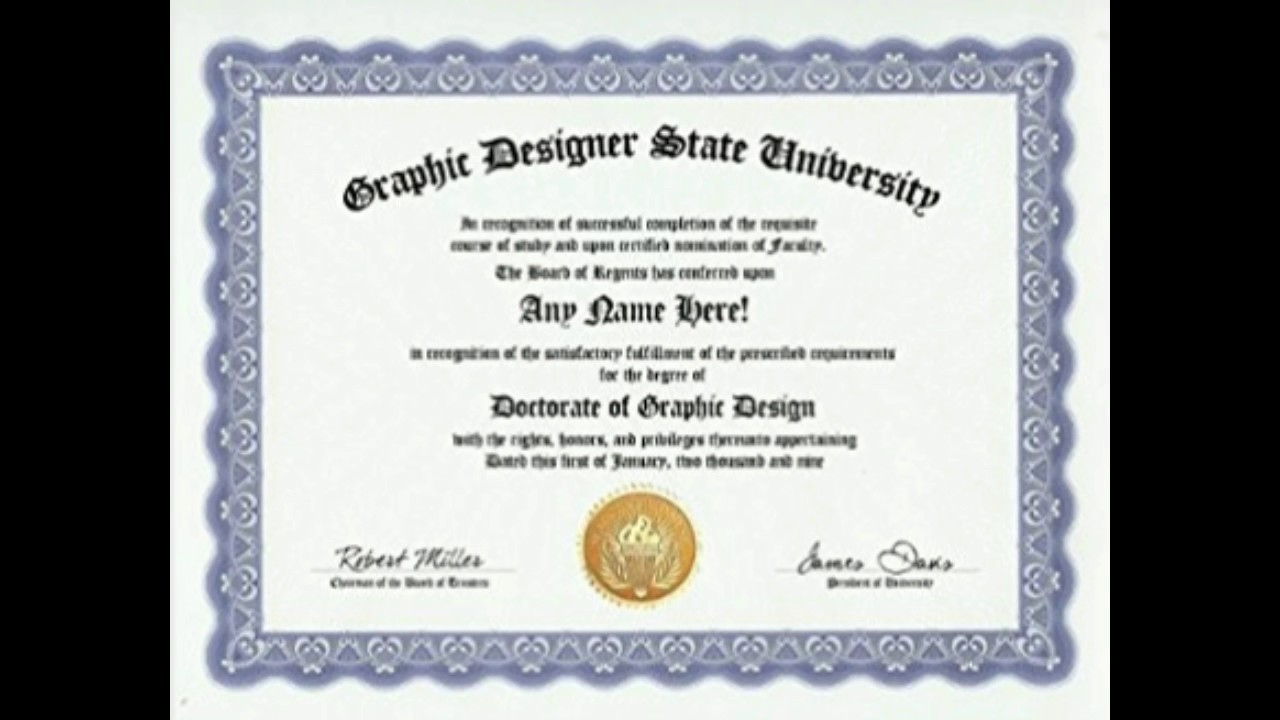 Typography Degree 28 Images Buy A Fake College Diploma Online Degree Of Design Majoring In