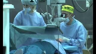 Лазерное удаление катаракты.avi(Проведение операции по удалению катаракты в Краснодарском филиале Микрохирургии глаза., 2012-02-10T10:32:54.000Z)