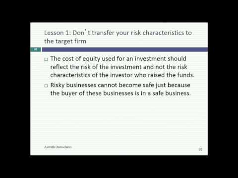 Session 26: Acquisition Valuation