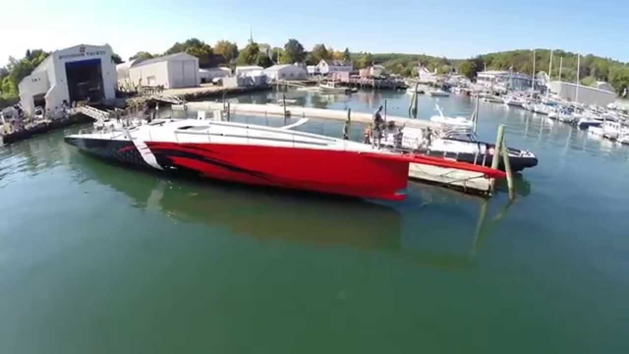 Hodgdon Yachts Launched 100 Ft Sailing Yacht Comanche